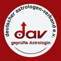 DAV geprüfte Astrologin